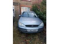 Ford Mondeo 1.8 graphite 3300 miles from new