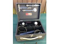 Vintage/Retro boxed BEAMU violet apparatus