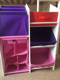 Kids book/toy storage