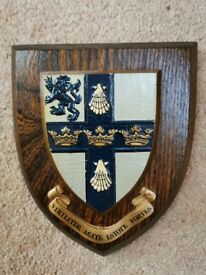 Heraldic Shield, Culford School, Bury St. Edmunds