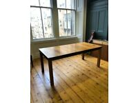 Solid Walnut Table & Chairs for Sale