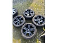 """Range Rover sport 19"""" alloy wheels transporter t5"""