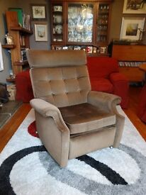 Parker Knoll Reclining Armchair in excellent working order