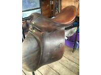 Huge cob job lot English leather saddles