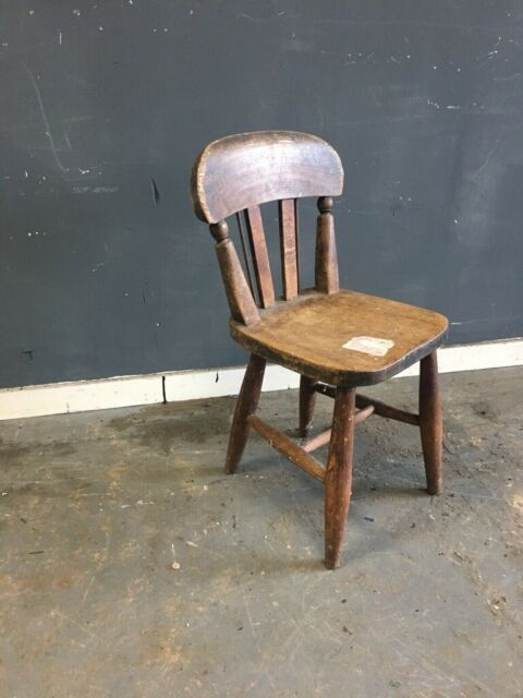 Vintage Childs Wooden Chair Antique Lec Kids Chair In Orrell Manchester Gumtree