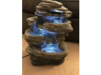 Home Indoor decoration Tabletop LED Fountain Waterfall