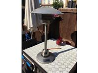 Patio heater with bottle