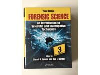 FORENSIC SCIENCE - Hardcover by JAMES and NORDBY, 3rd Edition