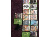 Xbox 360, controller, 17 games