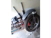 white knuckle 125cc 2013 plate wheels