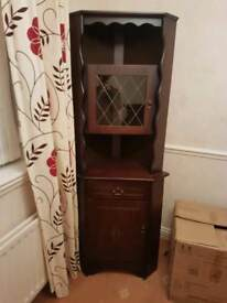 Wood Corner Unit dining or living room furniture