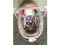 Comfort and Harmony pink Baby Bouncer/Rocker