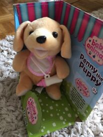 Toy puppy with bottle - brand new & boxed (unopened)