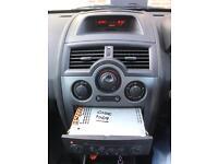 Renault Megane Mk2 CD player with code