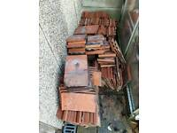 Broseley red roof tiles x 250