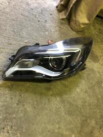 Vauxhall insignia b newest shape (head lamp)
