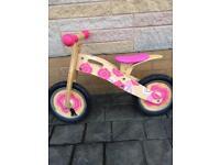 Tidlo wooden balance bike