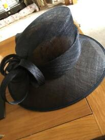 Dark Navy Debut Gorgeous Hat. VGC