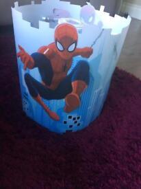 Spider man lampshade