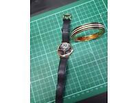 Matching Kate Spade Watch & Bangle