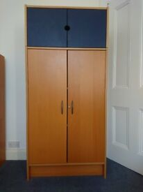 Multi-use storage units with shelves - great condition Sold separately or together