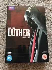 Luther Series 1&2 on DVD