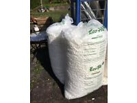Polystyrene chippings for packing