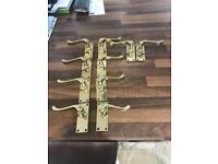 Brass door handles
