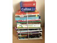 Assorted revision books