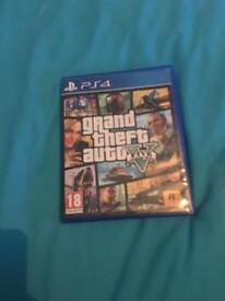 Gta ps4 great condition with map