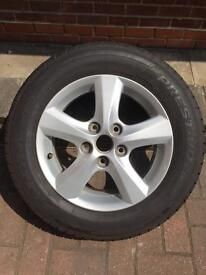 Mazda 3 alloy wheel