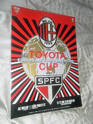 VERY RARE 1993 WORLD CLUB CHAMPIONSHIP AC MILAN V SAO PAULO @ TOKYO JAPAN