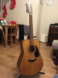Fender cd-100/12 string guitar