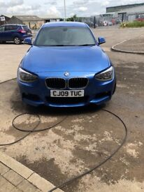 BMW 116D Msport remapped to 188 bhp very low miles