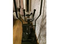 Hardly used joint cross trainer and bike