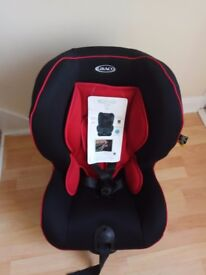 Brand new unused GRACO COAST CAR SEAT Chilli Red Group 1 Car Seat 9-18kg