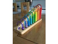 Melissa & Doug abacus Toy