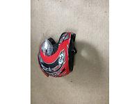 Motorbike Trousers, Helmet & Boots
