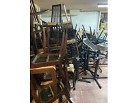Free to collect restaurant chairs