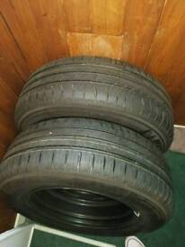 BRAND NEW Michelin Energy Saver Tyres . 205 65 R 15