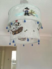Absolutely gorgeous pirate lampshade