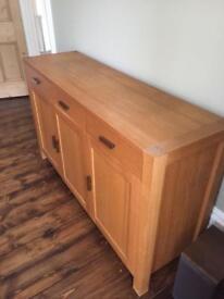 Sideboard - solid oak