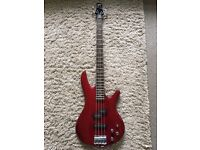 Cherry Red Ibanez GSR200 Bass Guitar Excellent Condition with Gig Bag! £120 No Offers