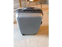 samsonite suitcase grey on wheel luggage