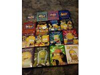 Simpsons seasons 1-15 boxsets plus the simpsons movie on dvd