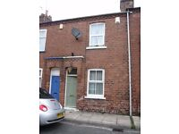 ATTRACTIVE TWO BEDROOM TERRACE HOUSE TO RENT IN SOUGHT AFTER LOCATION IN YORK CITY CENTRE AVAILABLE
