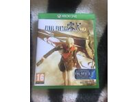 Final Fantasy type 0 HD for Xbox one with FF 15 demo (unused)