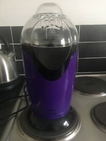 Purple popcorn maker