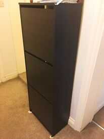 IKEA shoe cabinet with 3 compartment