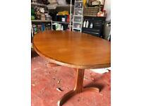 G Plan mid century modern teak extendable table
